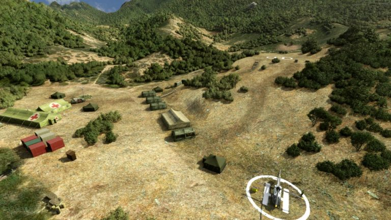 This free Microsoft Flight Simulator mod adds the set from TV's M*A*S*H