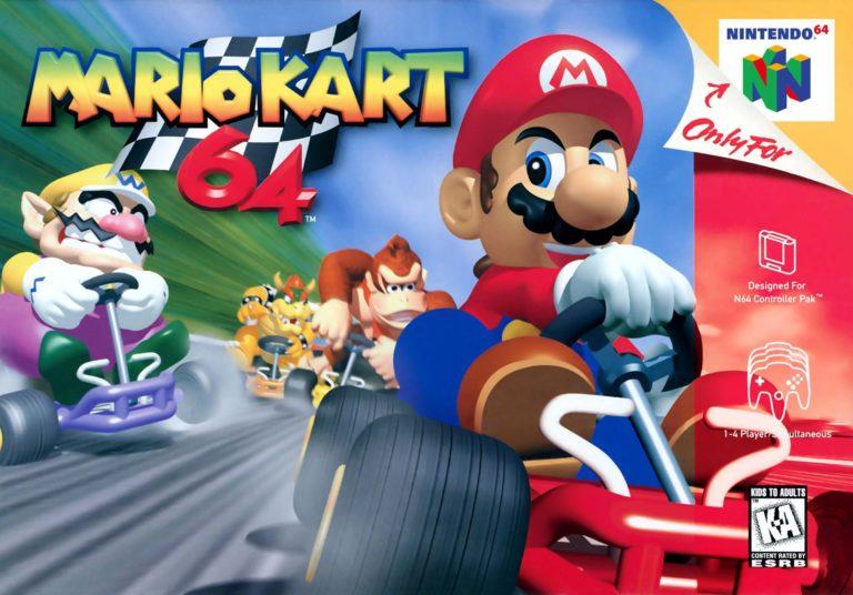 Nintendo has released high-resolution box-art of various N64 games