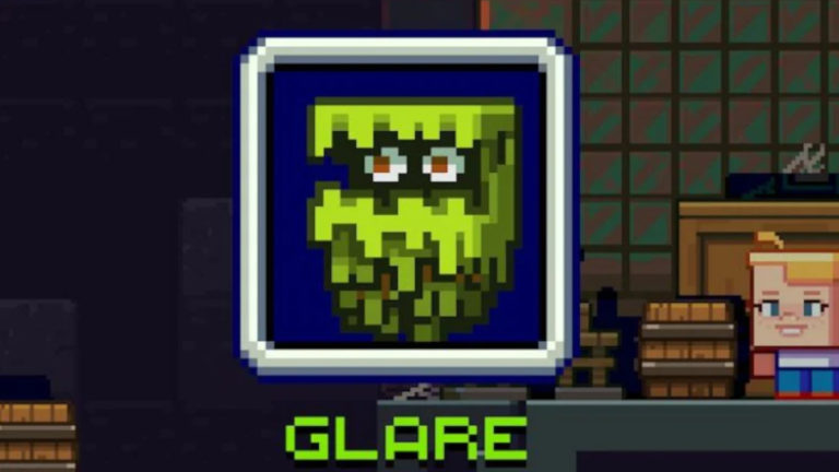 Minecraft's glare mob would warn you about monster-spawning darkness