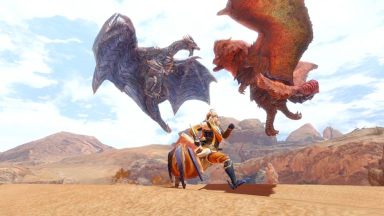 Capcom is asking players about PC-Switch cross-play and cross-save in Monster Hunter Rise