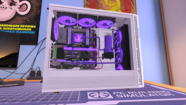 PC Building Simulator is free for keeps this week