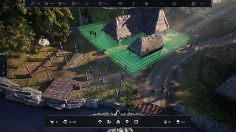 Robin Hood: Sherwood Builders puts city-building in a survival RPG, and the demo's a hit