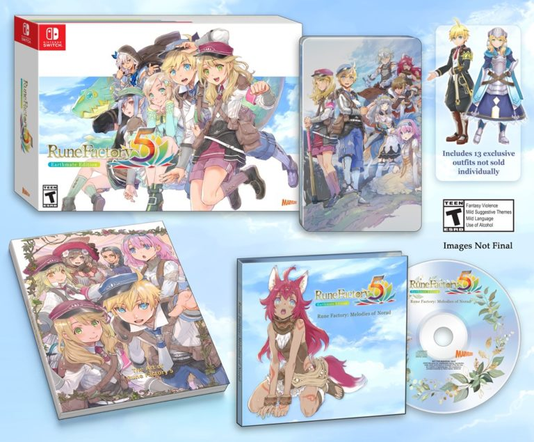 XSEED reveals Earthmate Edition for Rune Factory 5