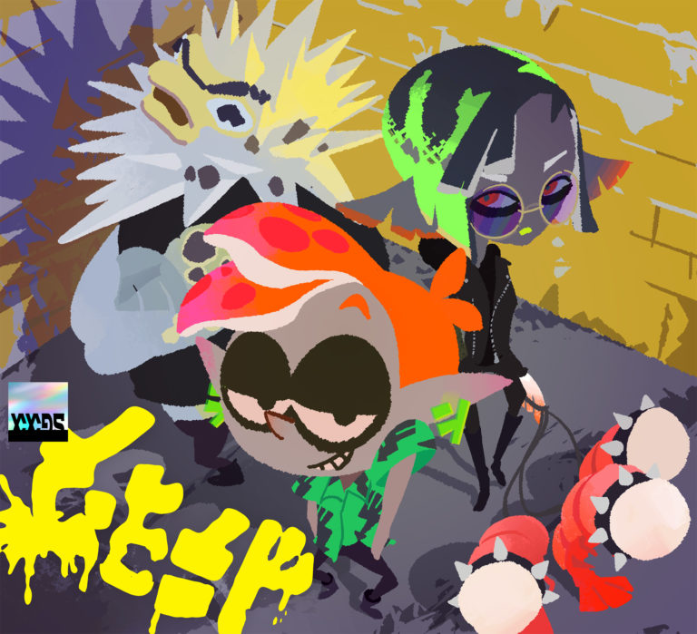 Nintendo announces Splatoon 3 band C-Side and posts a new music track