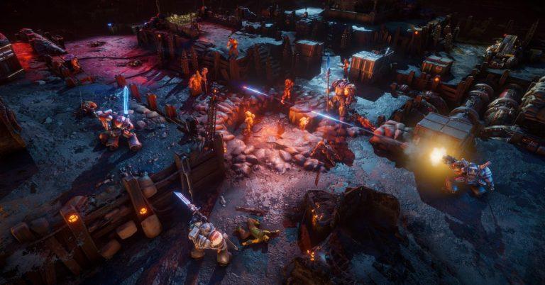 Chaos Gate: Daemonhunter makes Warhammer 40k look like XCOM