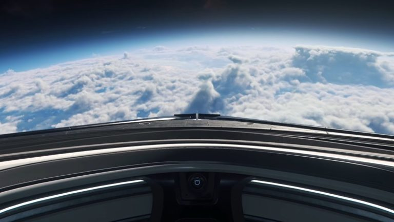 Star Citizen clouds looked great at CitizenCon