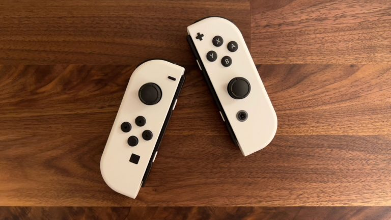 Nintendo says the Nintendo Switch (OLED model) does feature improved Joy-Cons